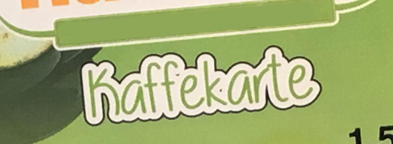 Kaffeekarte Text Rechtschreibung Alphabetik